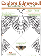 Explore Edgewood Origami Bay Checkerspot Butterfly